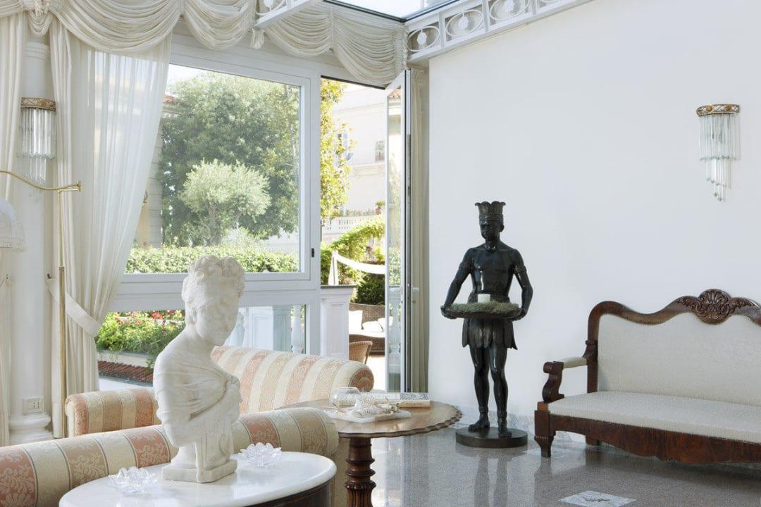 Reception details  Hotel Corallo Sorrento