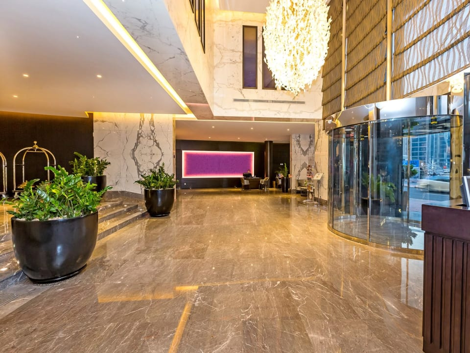 Lobby Flora Park Deluxe Hotel Apartments