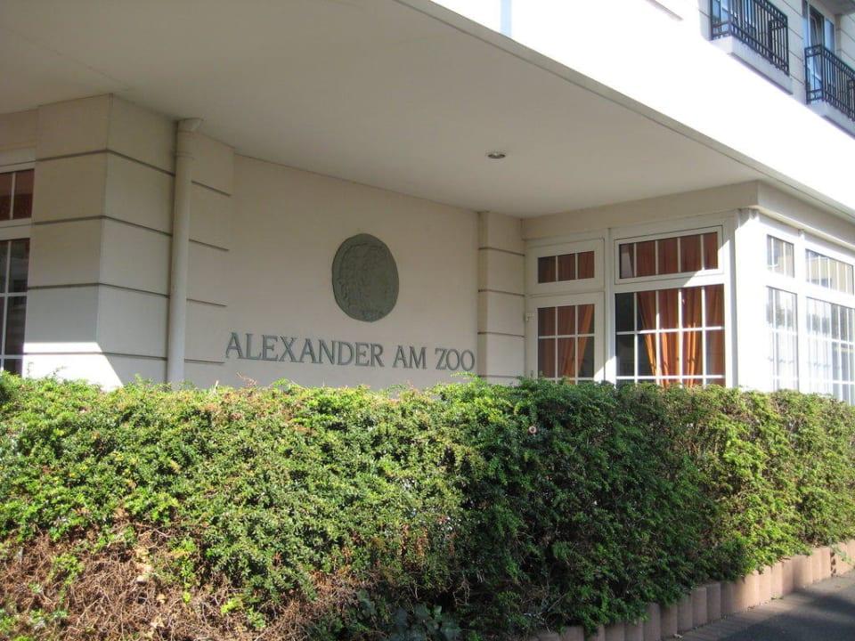 Hotel von aussen Hotel Alexander am Zoo