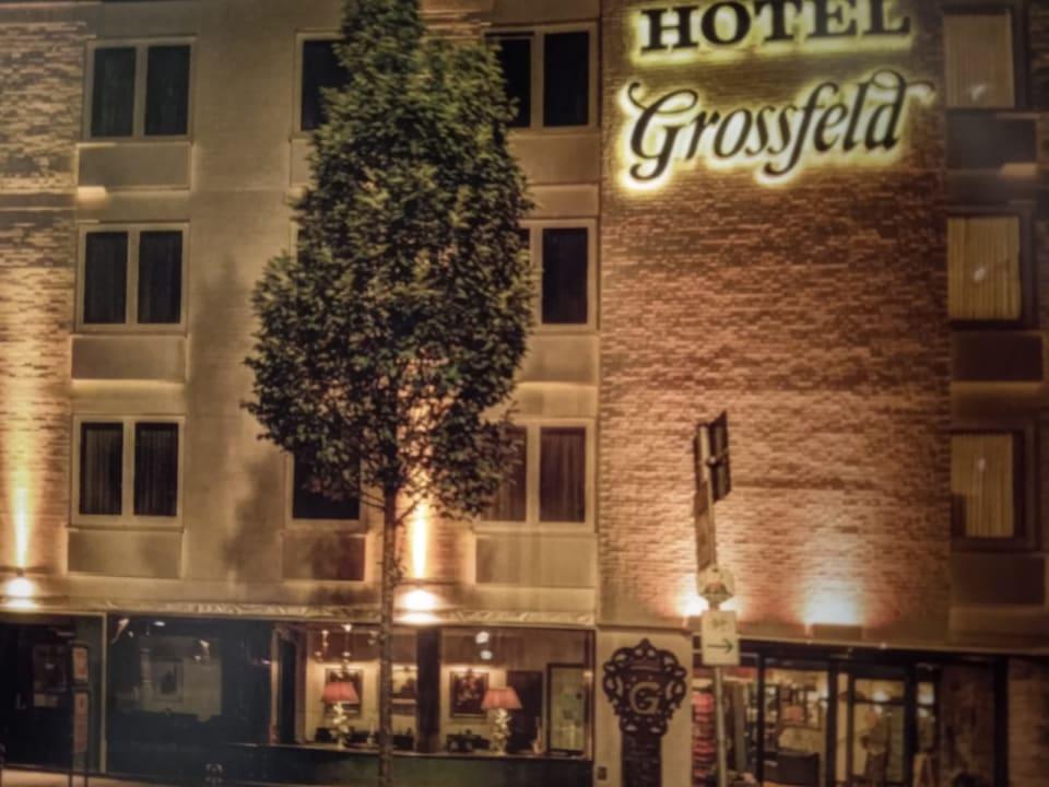 Außenansicht Hotel Grossfeld