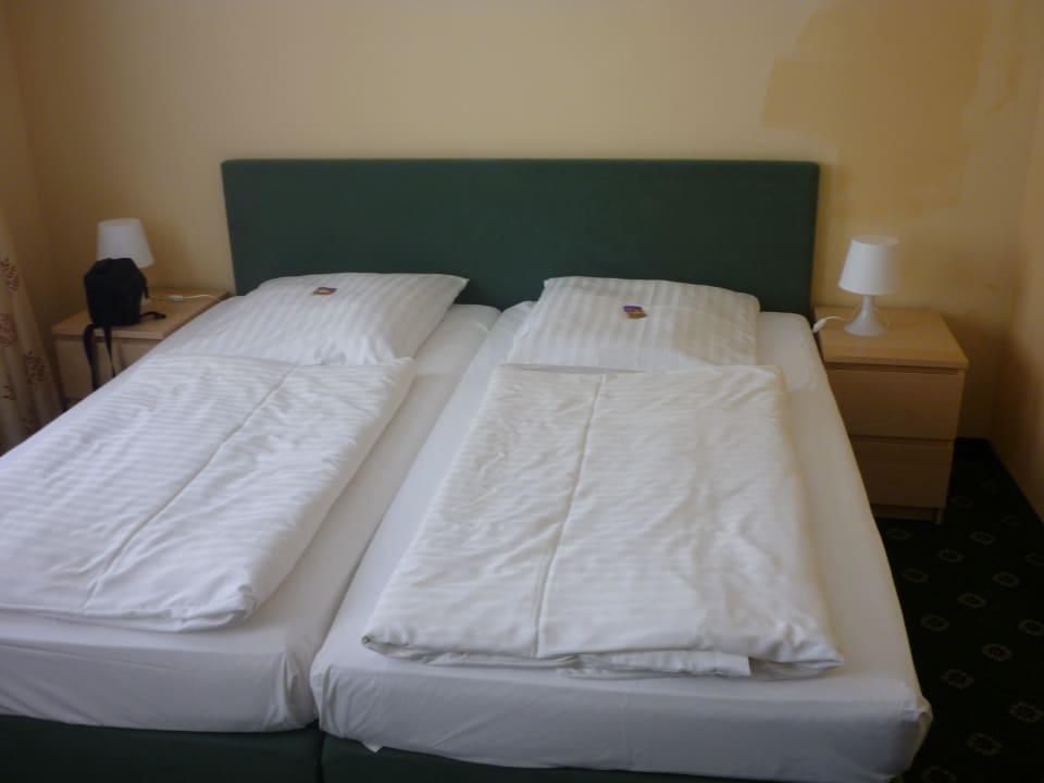 Bett Doppelzimmer Hotel Zur Alten Schmiede