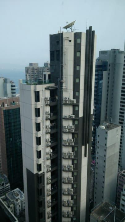 Ausblick Ramada Hong Kong Harbour View