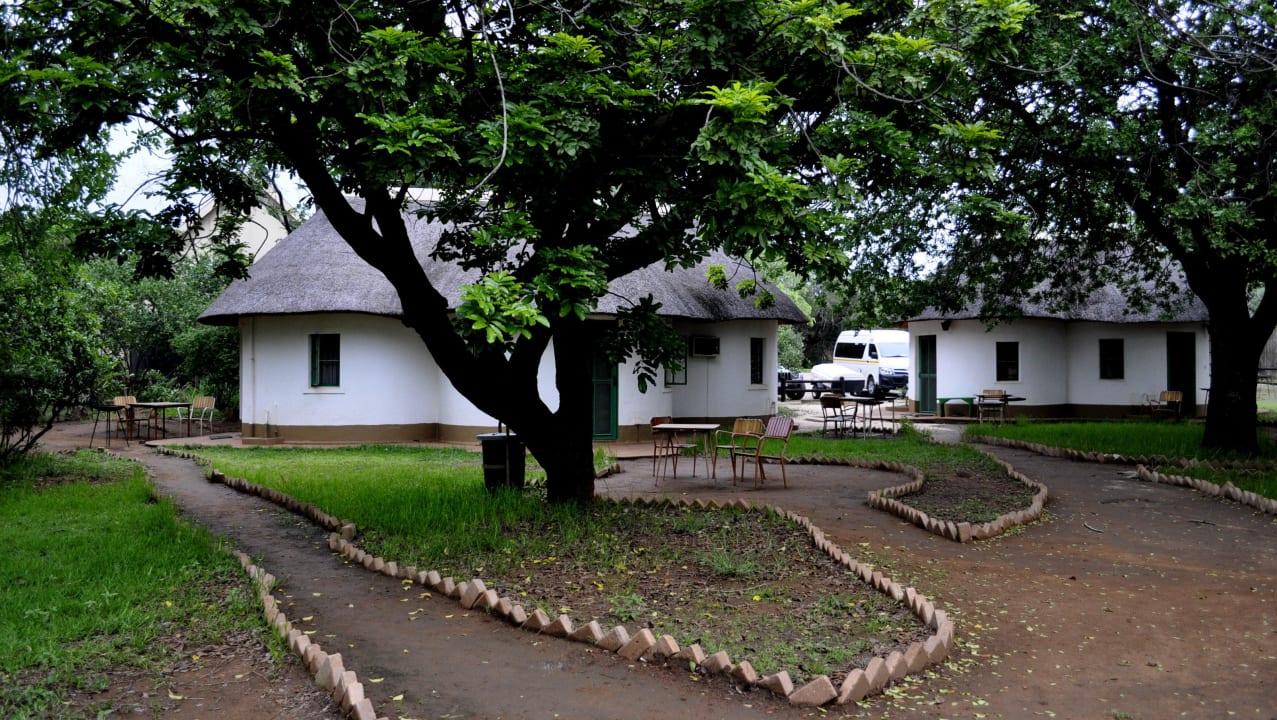 Schön gelegen Restcamp Lower Sabie