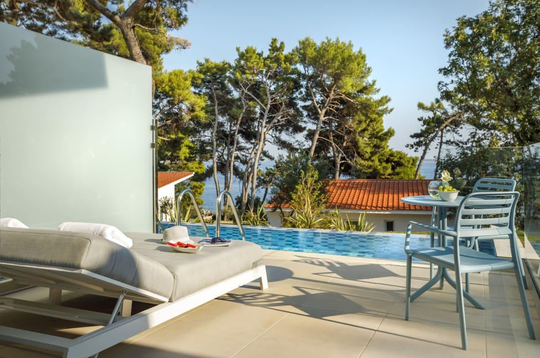 Pool Valamar Carolina Hotel & Villas
