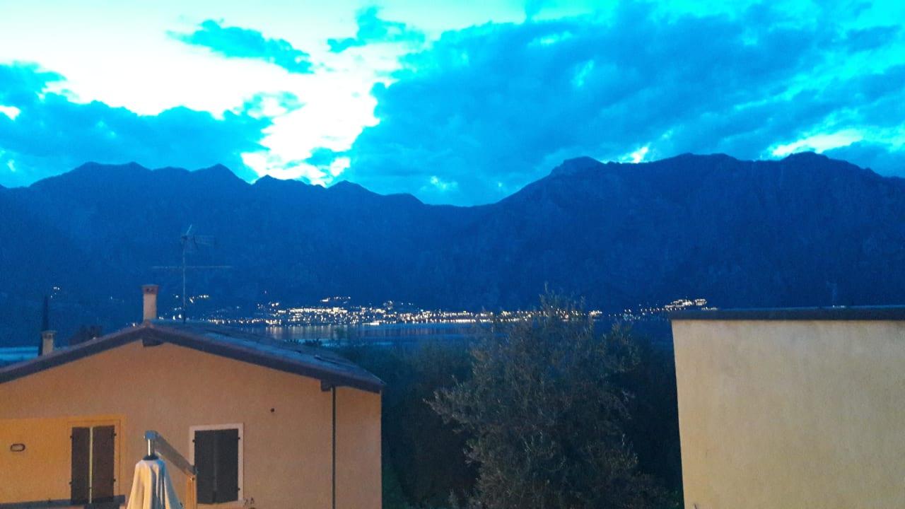 Blick nach Limone  Hotel B&B Casa Benamati
