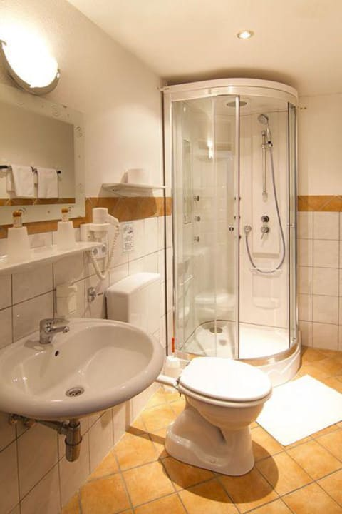 Badezimmer Hotel Gisela