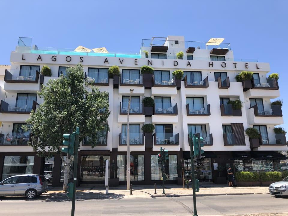Außenansicht Lagos Avenida Hotel