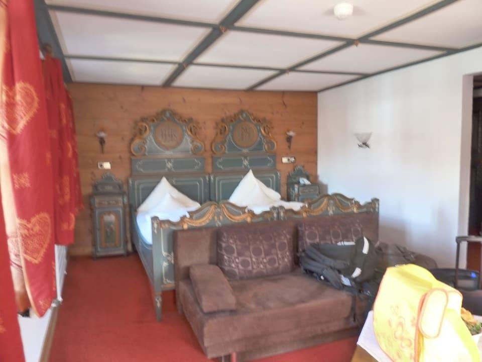 Riesiges Zimmer, mit Erker, Sitzecke, Flur, 2 Schr Hotel Gasthof Terofal