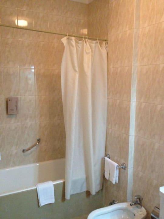 Dusche /Badewanne Hotel Toural