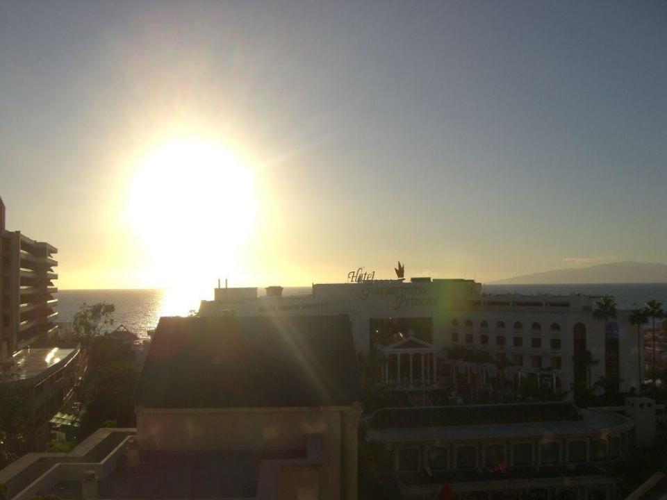 Sonnenunteragng vom Balkon Bahia Princess
