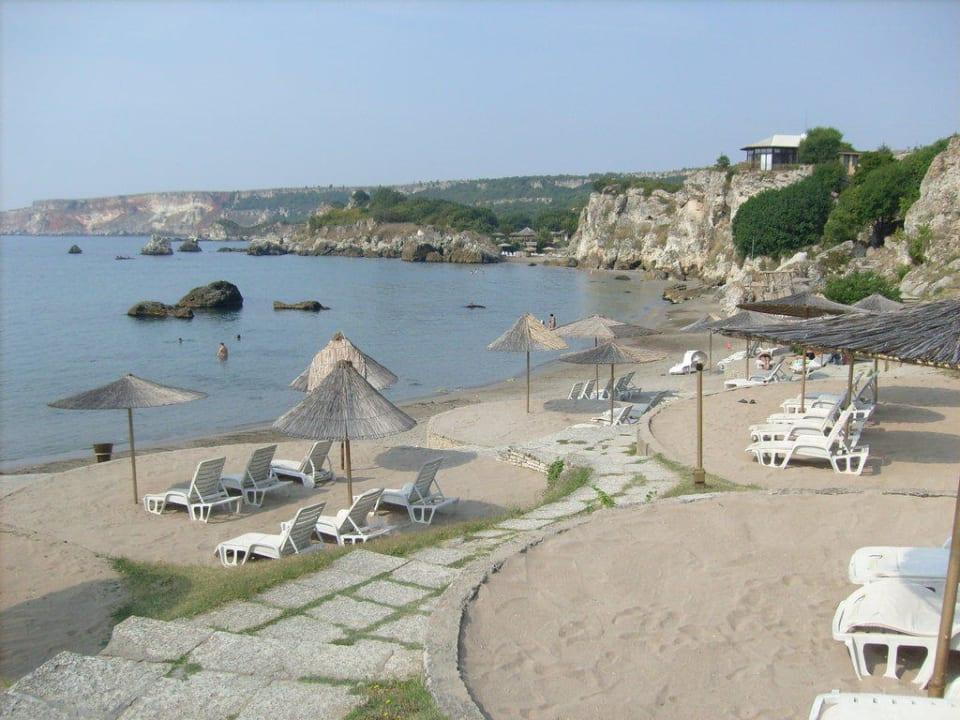 Großer Strand Hotel Russalka