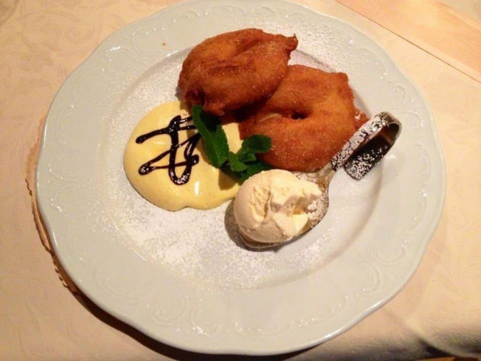 Einer der besten Desserts, Achtung, macht süchtig! Hotel Madatsch