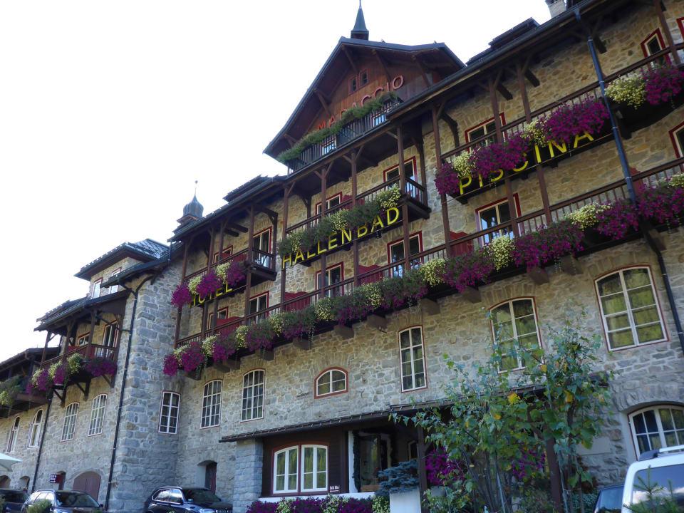 Außenansicht bei Kaiserwetter Hotel Madatsch