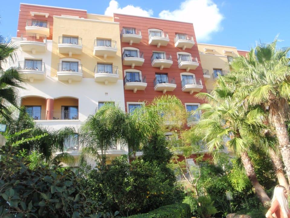 Elewacja Maritim Antonine Hotel & Spa Malta
