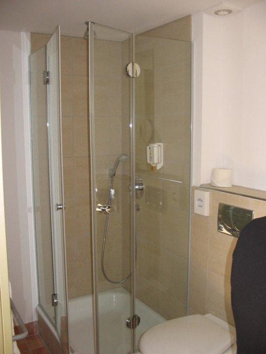 Bad; Zimmer Texel Hotel Rickmers Insulaner
