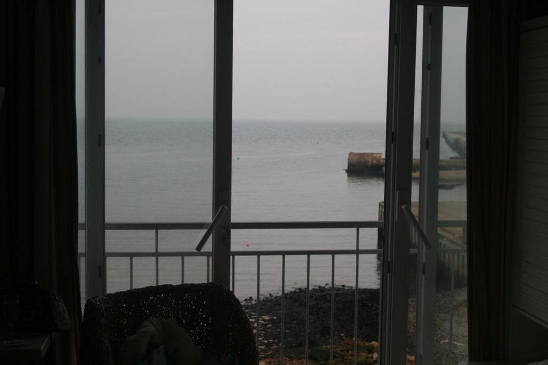 Ausblick vom Balkon Hotel Rickmers Insulaner