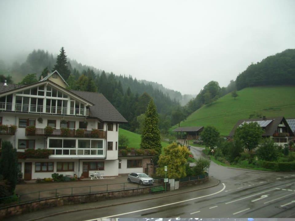 Balkonaussicht Hotel Döttelbacher Mühle