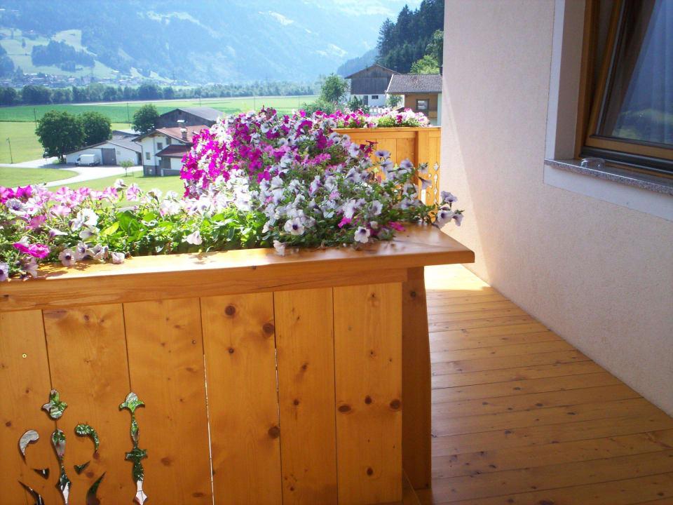 Balkon Pension Monitzer