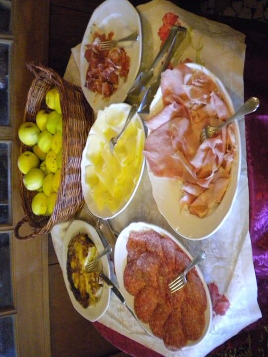 Breakfast buffet Hotel Cima Belpra