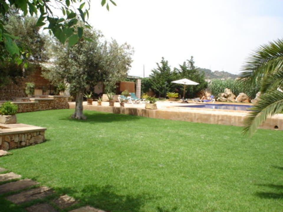 Garten Finca Ca'n Bessol