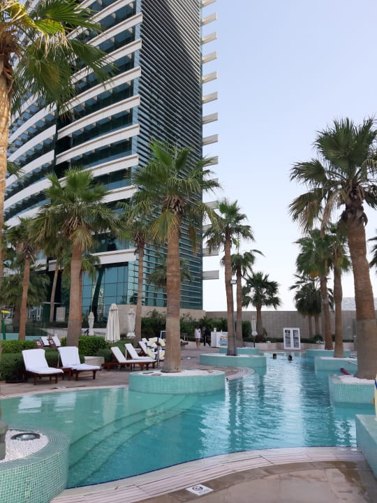 Pool Hotel Crowne Plaza Dubai Festival City