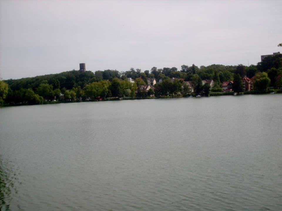 Blick auf den See Hotel Farchauer Mühle