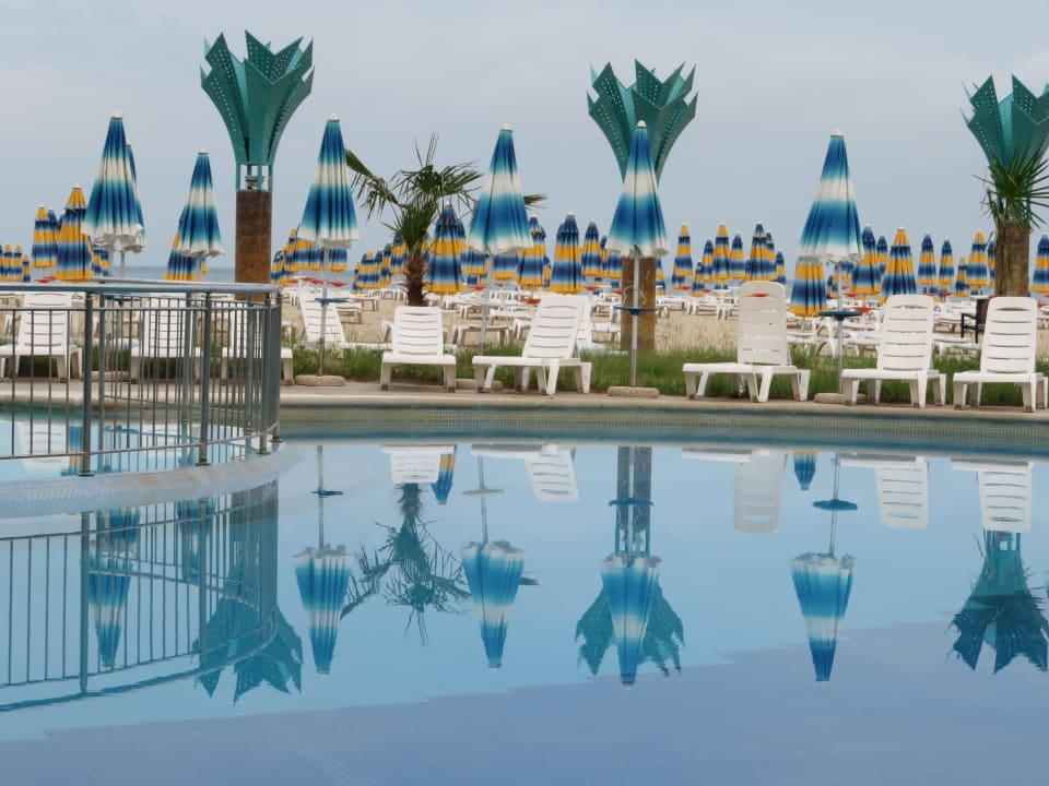 Gartenanlage Hotel Borjana