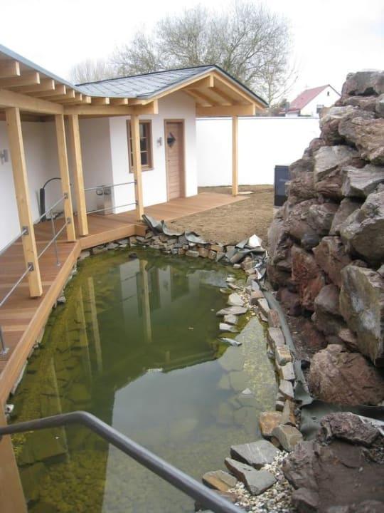 70° Sauna im Außenbereich MICHELS Wellness- & Wohlfühlhotel