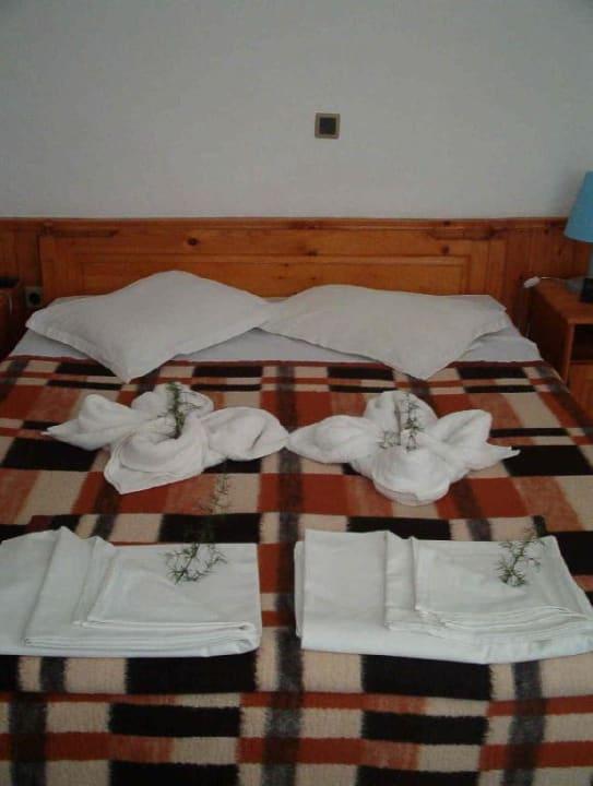 Handtuch-Kunstwerke Hotel Russalka