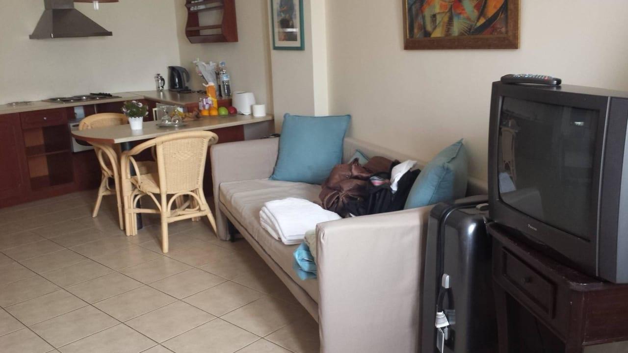 Wohn-/Essbereich Hotel Amazones Village Suites