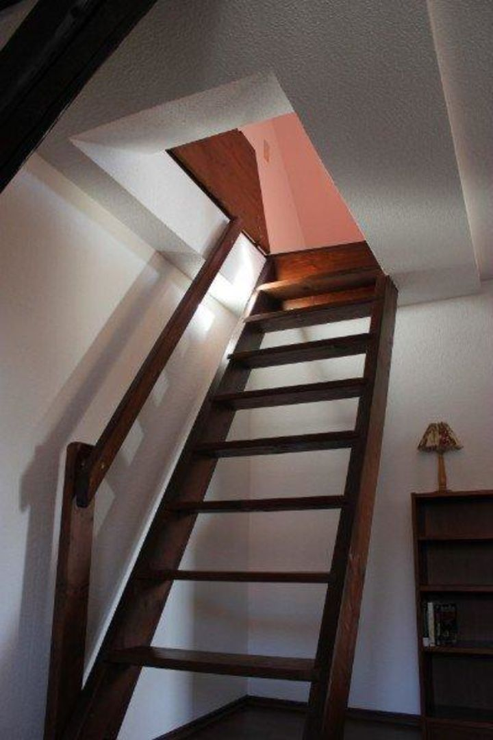 """Bild """"Schlafzimmer unter dem Dach"""" zu Ferienwohnungen ..."""