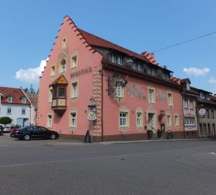Außenansicht Hotel Landgasthof Rebstock