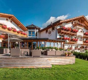 Die Infinity-Terrasse Hotel Lärchenhof
