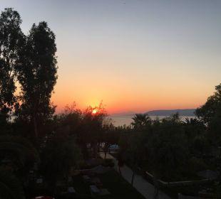Ausblick vom Zimmer Hotel Corissia Beach