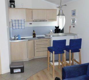 Küchenzeile mit Esstresen Baltic Home Apartments