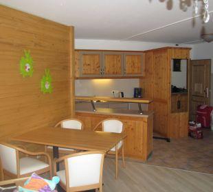 Küche- und Essecke Familotel Hotel Feldberger Hof