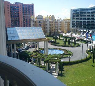 Ausblick Von unserem Balkon Victoria Palace Hotel & Spa