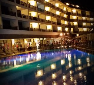 Beleuchtung bis ca. 24 Uhr Hotel Dunas Don Gregory