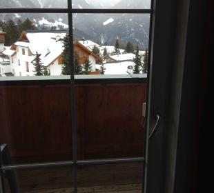 Ausblick vom Zimmer aus Hotel Castel