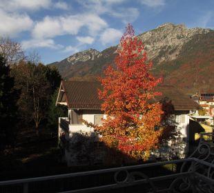 Morgendlicher Blick vom Balkon Hotel Villa Rein