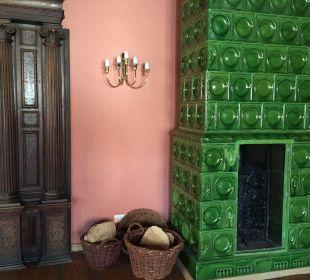 Historische Raucher Lounge Hotel Wyndham Garden Quedlinburg Stadtschloss