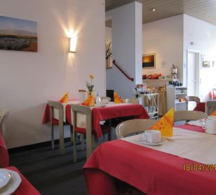 Frühstücksraum Hotel Garni Körschtal