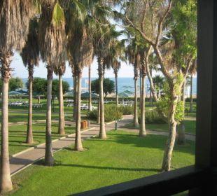 Aussicht vom Zimmer Club Aldiana Side