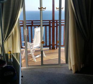 Balkon in der Suite ClubHotel Riu Vistamar
