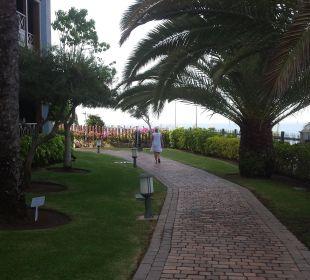 Auf den Weg zum Strand Lopesan Villa del Conde Resort & Spa