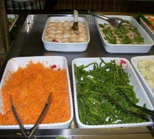 Abends: Gemüse