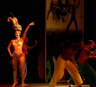 Samba show Oz Hotels Incekum Beach