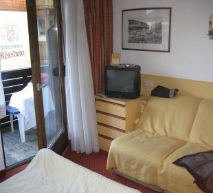 Zimmeransicht Hotel Alexander