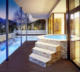Sole-Whirlpool outdoor DolceVita Hotel Preidlhof