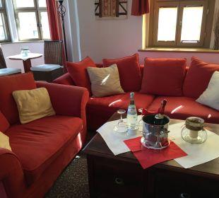 Gemütliche Sitzecke Hotel Wyndham Garden Quedlinburg Stadtschloss